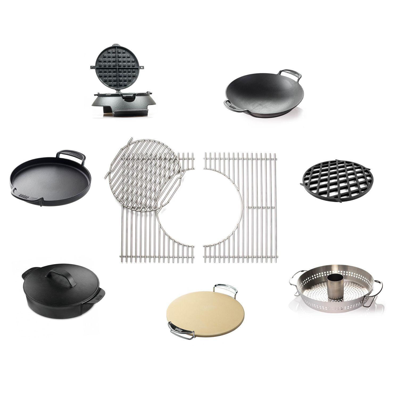 weber grillrost edelstahl f r spirit 300 7586 gourmet bbq system grillrost grillzubeh r. Black Bedroom Furniture Sets. Home Design Ideas