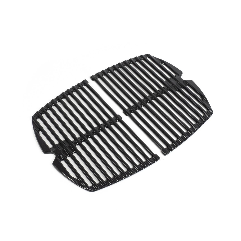 weber grillrost f r q140 q1400 serie gusseisen emailliert 2 tlg 69934 grillrost. Black Bedroom Furniture Sets. Home Design Ideas
