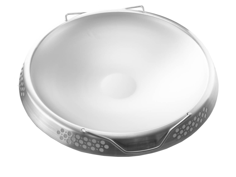 Weber Holzkohlegrill Edelstahl : Weber 8412 edelstahl wok für alle 57cm holzkohlegrills asiatisch
