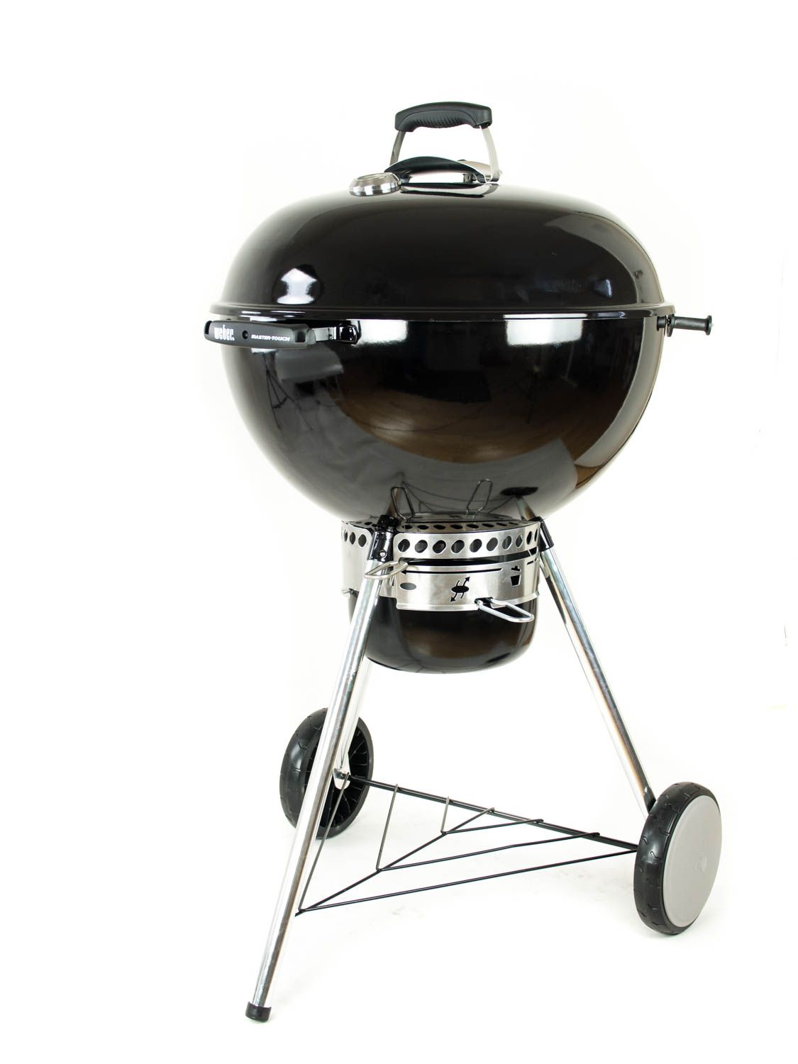 weber master touch gbs 57cm schwarz holzkohlegrill ohne kohlek rbe ebay. Black Bedroom Furniture Sets. Home Design Ideas