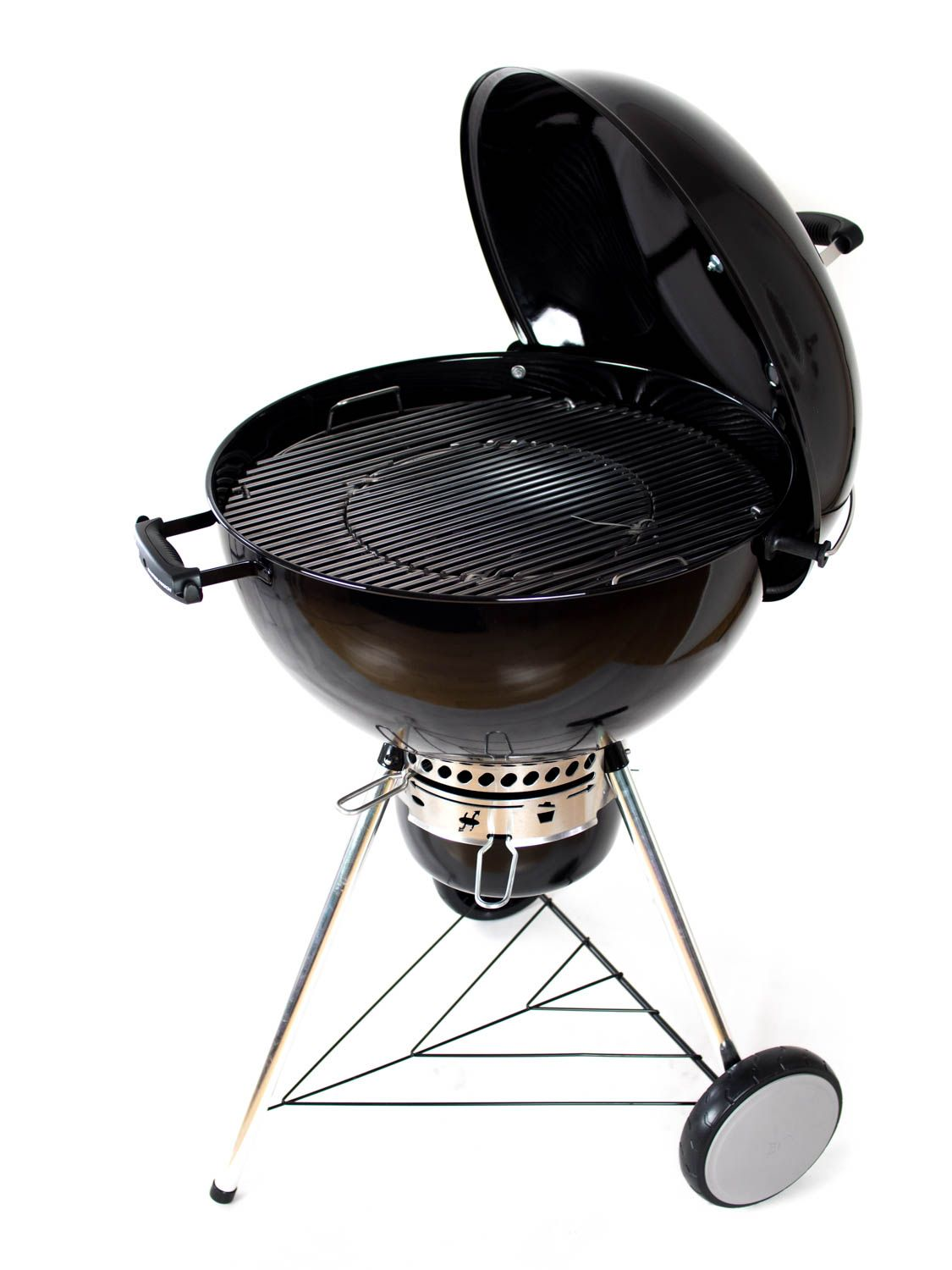 weber master touch gbs 57cm black holzkohlegrill kugelgrill ebay. Black Bedroom Furniture Sets. Home Design Ideas
