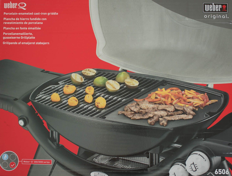 Weber Elektrogrill Grillplatte : Weber grillplatte für q serie ebay
