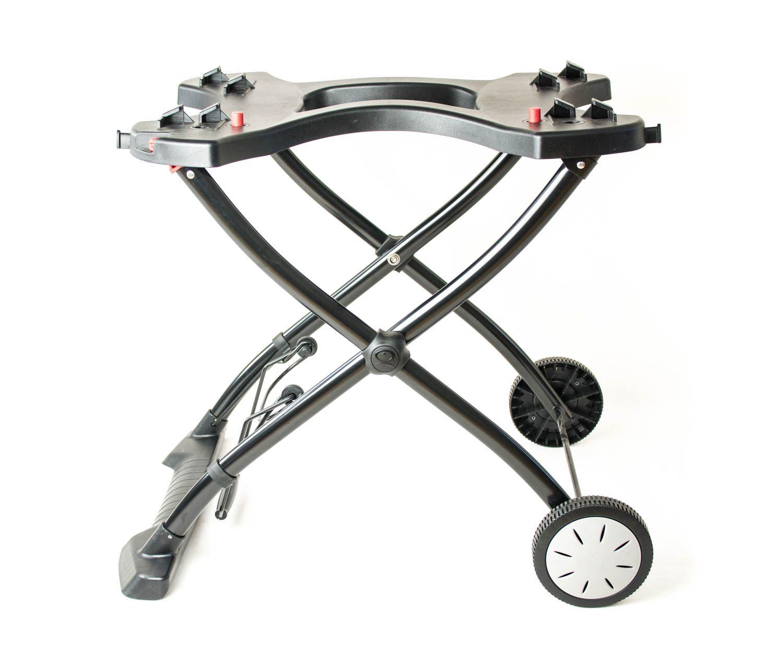 weber q portabler rollwagen 6557 f r q1000 1200 1400 2000 2200 2400 ebay. Black Bedroom Furniture Sets. Home Design Ideas