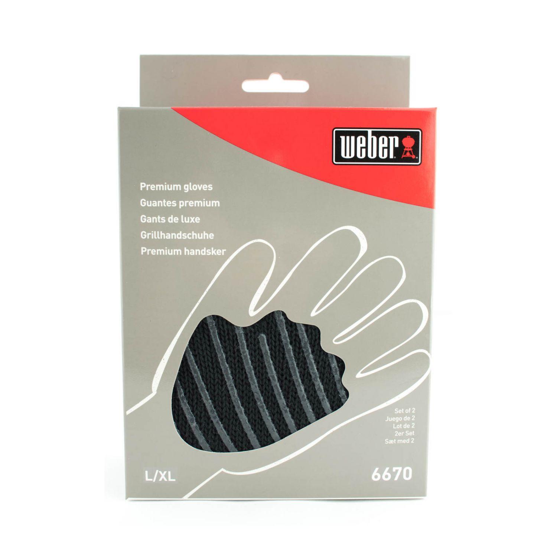 weber premium grillhandschuhe 6670 gr e l xl ebay. Black Bedroom Furniture Sets. Home Design Ideas