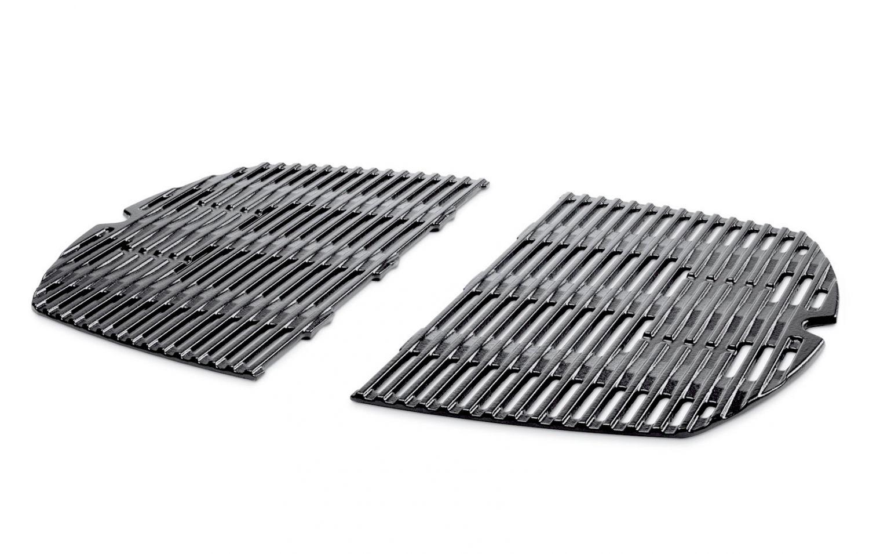 weber guss grillrost 7646 mit tropfschutz f r weber q 300 3000 serie ebay. Black Bedroom Furniture Sets. Home Design Ideas