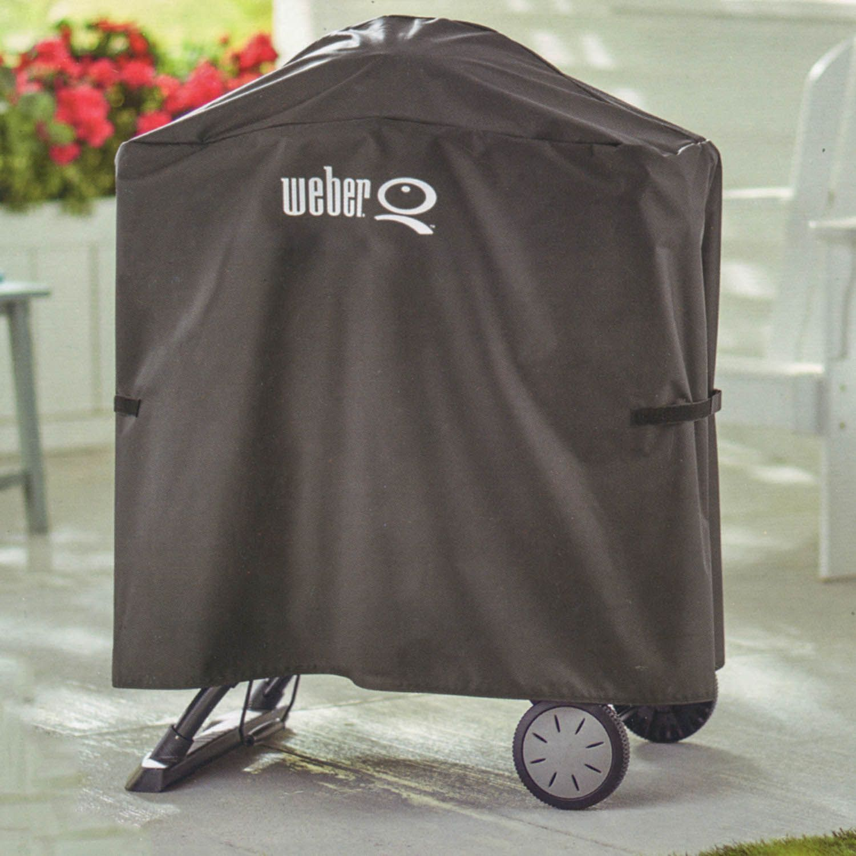 weber abdeckhaube premium 7120 f r q1000 2000 serie ebay. Black Bedroom Furniture Sets. Home Design Ideas