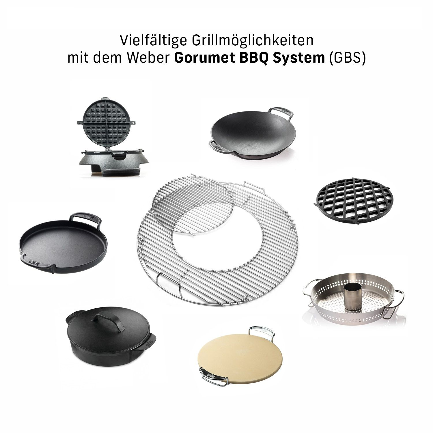 weber edelstahl grillrost 8843 gourmet bbq system ebay. Black Bedroom Furniture Sets. Home Design Ideas